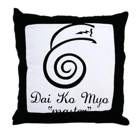 Dai Ko Myo Master Throw Pillow
