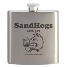 SandHogs, Local 147 Flask