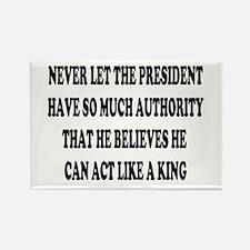 Presidential King 3 Rectangle Magnet
