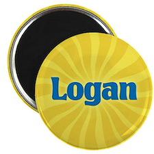 Logan Sunburst Magnet