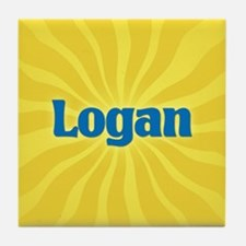 Logan Sunburst Tile Coaster