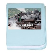 Just loco: Colorado steam train, USA, 3 baby blank