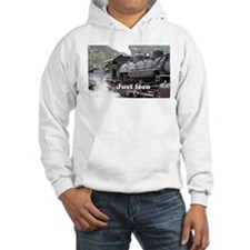 Just loco: Colorado steam train, USA, 3 Hoodie