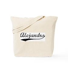 Vintage: Alejandro Tote Bag