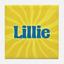 Lillie Sunburst Tile Coaster