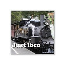 Just loco: steam train, Victoria, Australia Square
