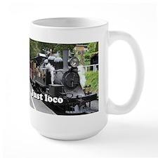 Just loco: steam train, Victoria, Australia Mug