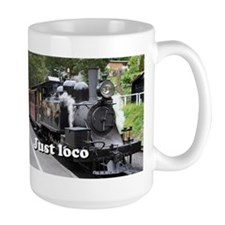 Just loco: steam train, Victoria, Australia Mug