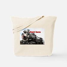 Just loco: steam train Arizona, USA Tote Bag
