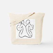 DPAW logo redrawn.jpg Tote Bag