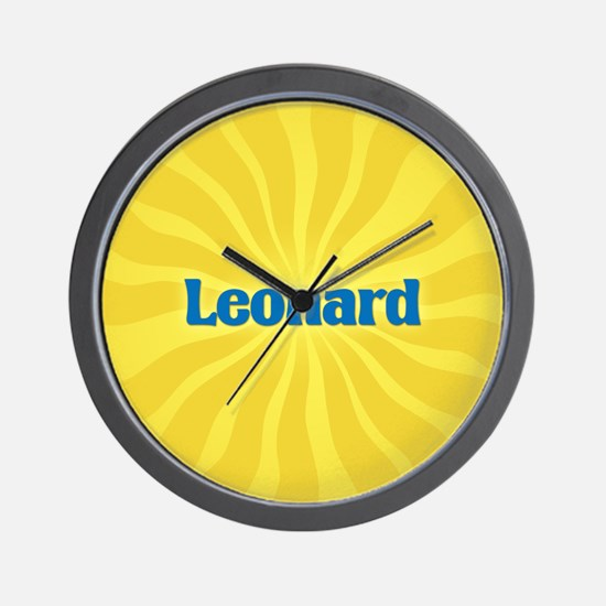 Leonard Sunburst Wall Clock