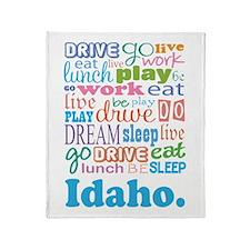 live dream Idaho Throw Blanket