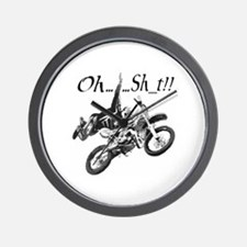 """Oh......Sh_t!!"" Wall Clock"