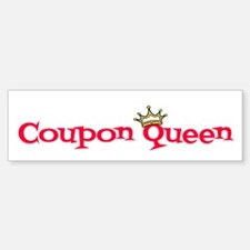 Coupon Queen Bumper Bumper Sticker
