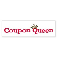 Coupon Queen Bumper Sticker