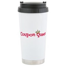 Coupon Queen Travel Mug