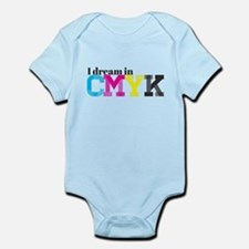 I Dream in CMYK Infant Bodysuit