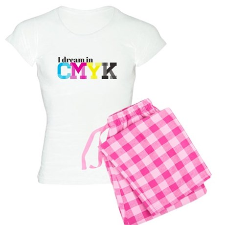 I Dream in CMYK Women's Light Pajamas