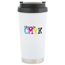 I Dream in CMYK Travel Mug