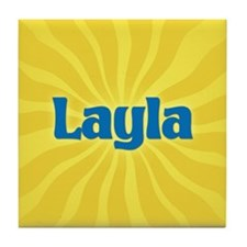 Layla Sunburst Tile Coaster