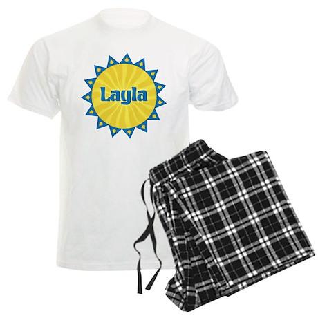 Layla Sunburst Men's Light Pajamas