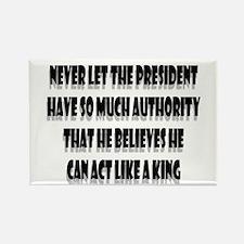 Presidential King 4 Rectangle Magnet