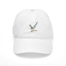 striking red-tail hawk Baseball Baseball Cap