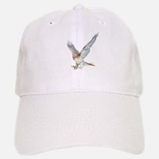 striking red-tail hawk Baseball Baseball Cap