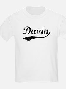 Vintage: Davin Kids T-Shirt