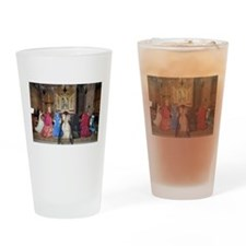 Her Majesty and Ladies at Prayer Drinking Glass