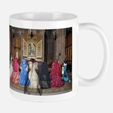 Her Majesty and Ladies at Prayer Mug