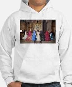 Her Majesty and Ladies at Prayer Hoodie