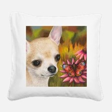 dog 85.jpg Square Canvas Pillow