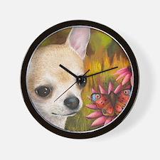 dog 85.jpg Wall Clock