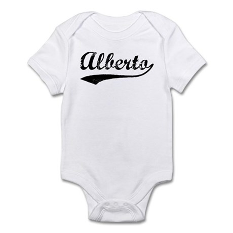 Vintage: Alberto Infant Bodysuit