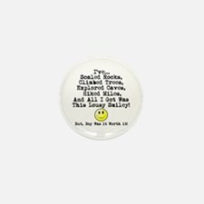 Lousy Smiley Mini Button (100 pack)