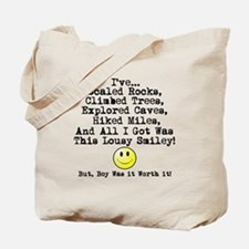 Lousy Smiley Tote Bag