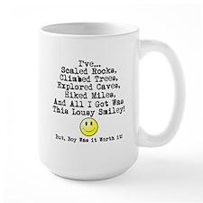Lousy Smiley Ceramic Mugs