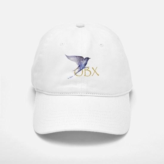purple martin OBX Baseball Baseball Cap