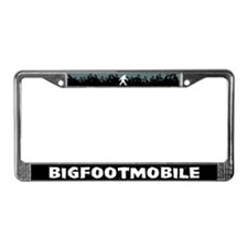 Bigfootmobile License Plate Frame
