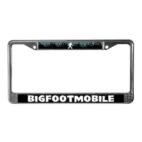 Bigfootmobile License Plate Frame
