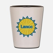 Lance Sunburst Shot Glass