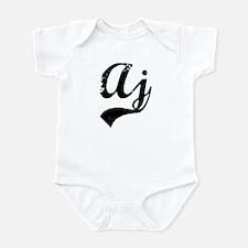 Vintage: Aj Infant Bodysuit