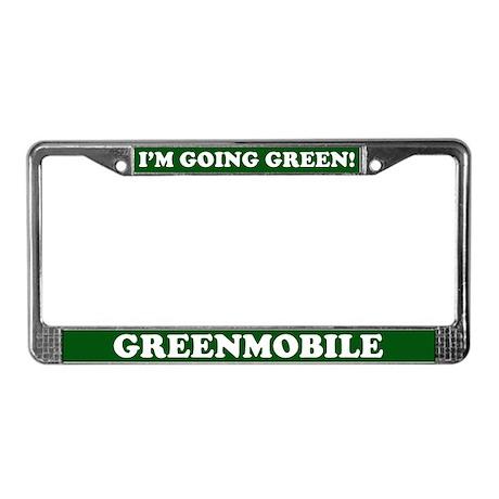 Greenmobile License Plate Frame