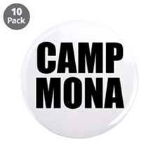 "Camp Mona 3.5"" Button (10 pack)"