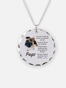 Pug Your Friend Necklace