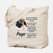 Pug Your Friend Tote Bag