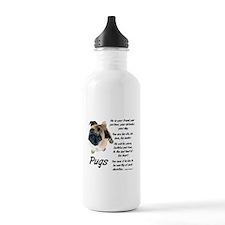 Pug Your Friend Water Bottle