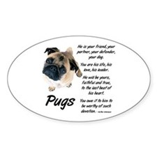 Pug Your Friend Decal