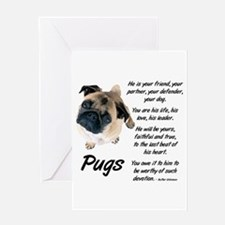 Pug Your Friend Greeting Card